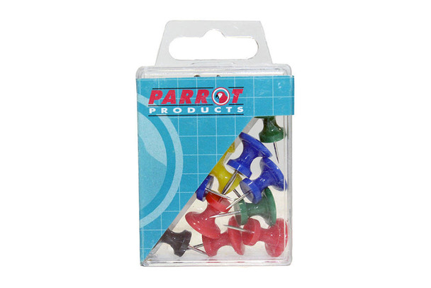 Giant Push Pins Boxed 15 Assorted