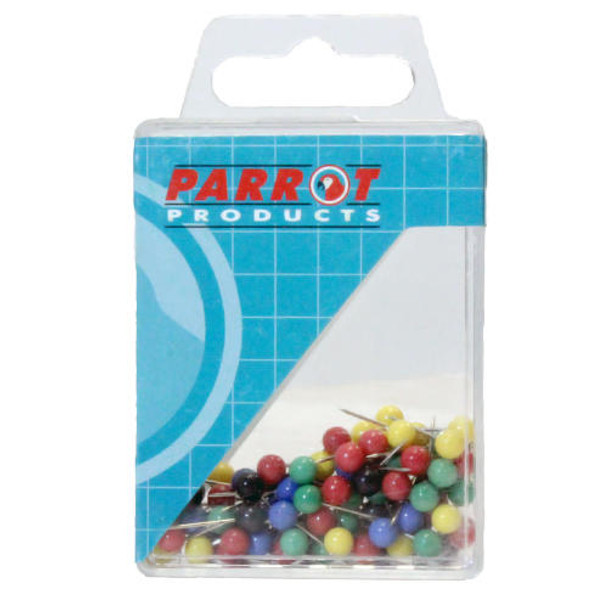 Map Pins Boxed 100 - Assorted