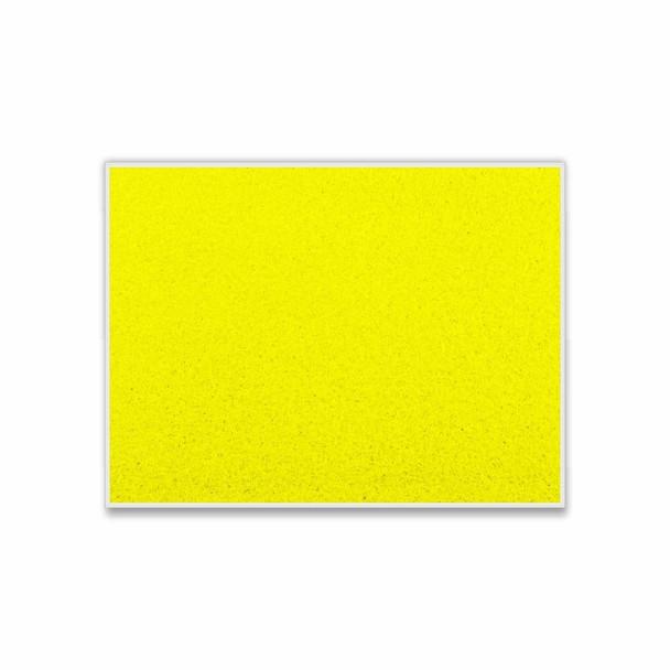 Info Board Plastic Frame - 1200900mm - Yellow
