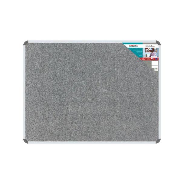 Bulletin Board Ribbed Aluminium Frame 600x450mm - Laurel