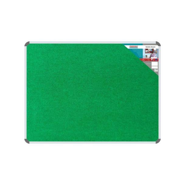Bulletin Board Ribbed Aluminium Frame 1200x900mm - Palm