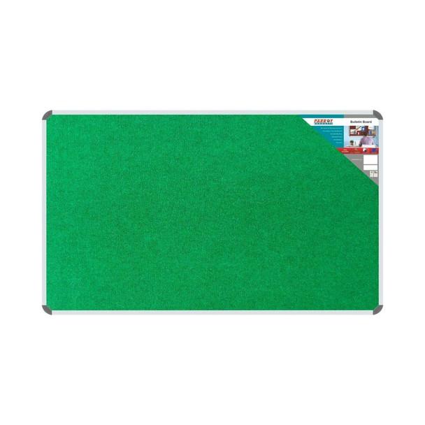 Bulletin Board Ribbed Aluminium Frame 1500x900mm - Palm