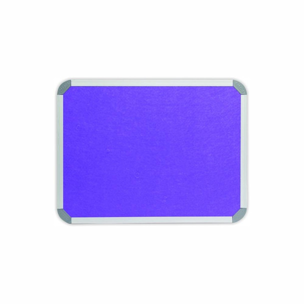 Info Board Aluminium Frame - 600450mm - Purple