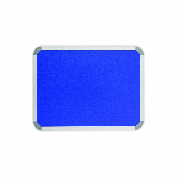 Info Board Aluminium Frame - 600450mm - Royal Blue
