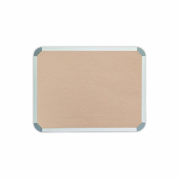 Info Board Aluminium Frame - 600450mm - Beige