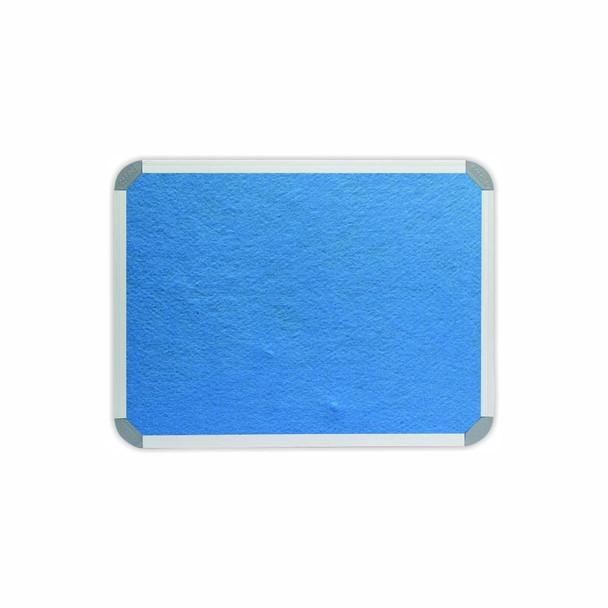Info Board Aluminium Frame - 600450mm - Sky Blue