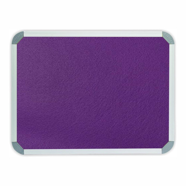 Info Board Aluminium Frame - 900600mm - Purple