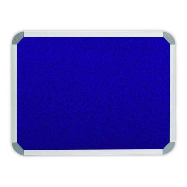 Info Board Aluminium Frame - 900600mm - Royal Blue
