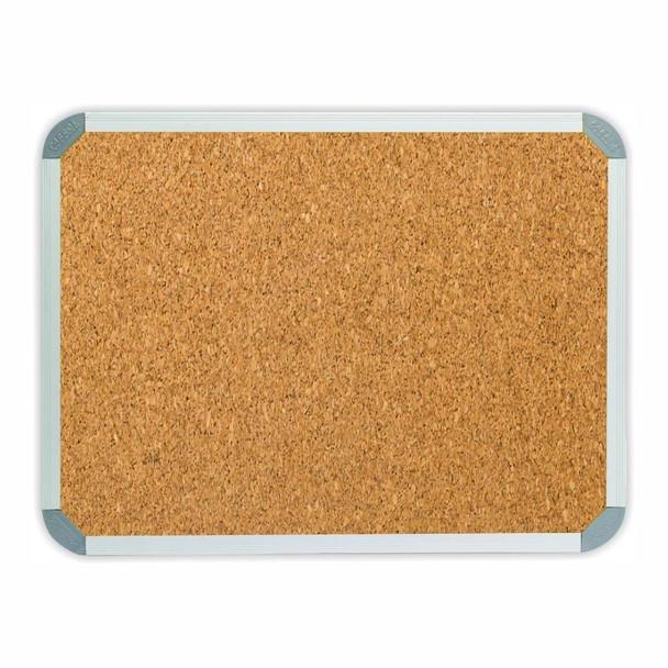 Info Board Aluminium Frame - 900600mm - Cork