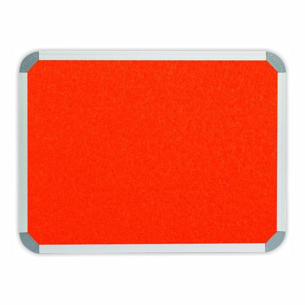 Info Board Aluminium Frame - 900600mm - Burnt Orange