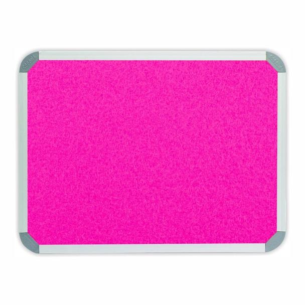 Info Board Aluminium Frame - 900600mm - Pink