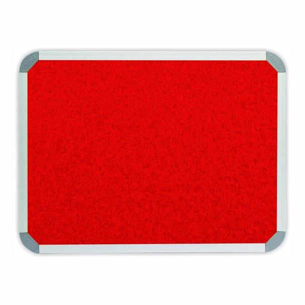 Info Board Aluminium Frame - 900600mm - Red
