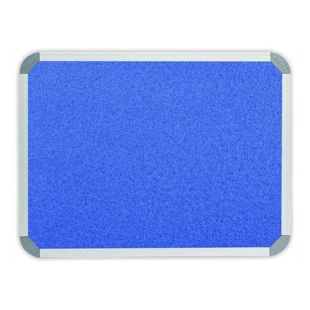 Info Board Aluminium Frame - 900600mm - Sky Blue