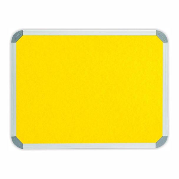 Info Board Aluminium Frame - 900600mm - Yellow