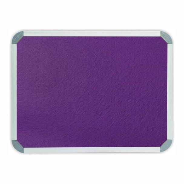 Info Board Aluminium Frame - 900900mm - Purple