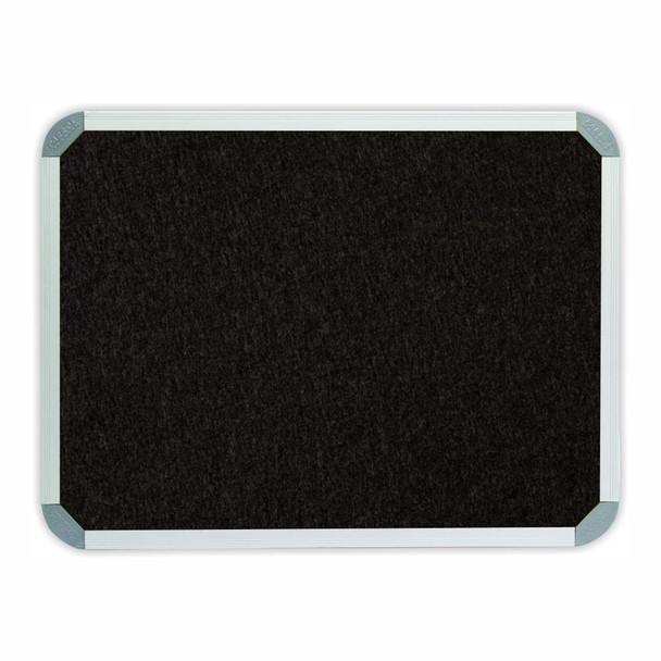 Info Board Aluminium Frame - 900900mm - Black