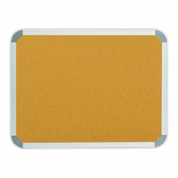 Info Board Aluminium Frame - 900900mm - Beige