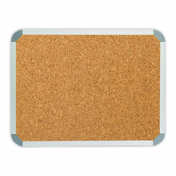 Info Board Aluminium Frame - 900900mm - Cork