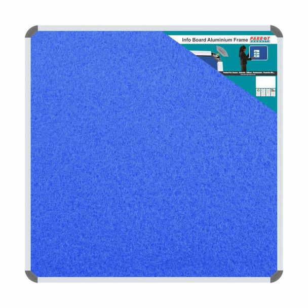 Info Board Aluminium Frame - 900900mm - Sky Blue