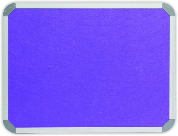 Info Board Aluminium Frame - 1200900mm - Purple