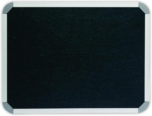 Info Board Aluminium Frame - 1200900mm - Black