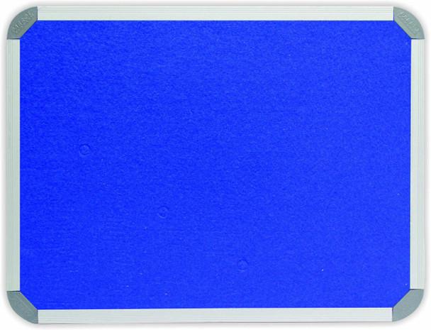 Info Board Aluminium Frame - 1200900mm - Royal Blue