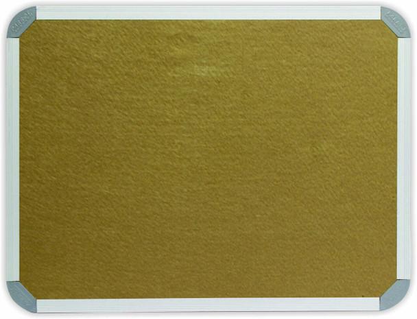 Info Board Aluminium Frame - 1200900mm - Beige