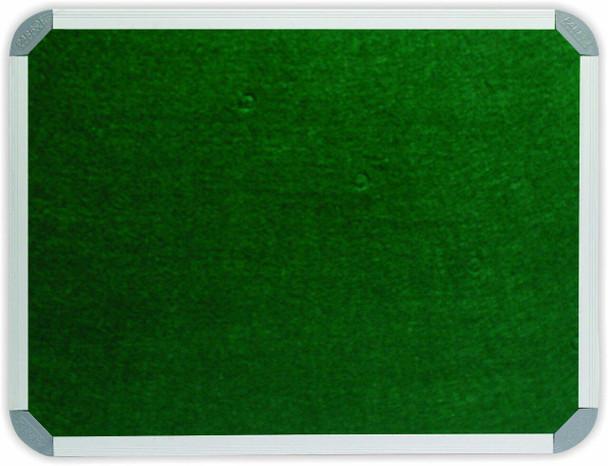Info Board Aluminium Frame - 1200900mm - Green