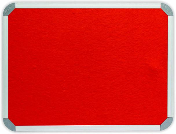 Info Board Aluminium Frame - 1200900mm - Burnt-Orange
