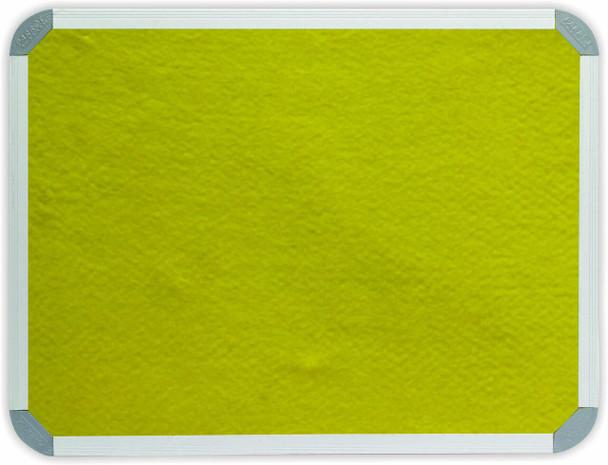 Info Board Aluminium Frame - 1200900mm - Yellow