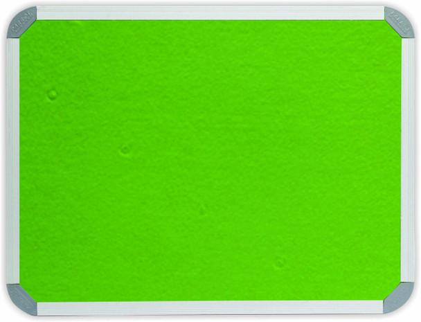 Info Board Aluminium Frame - 12001000mm - Lime Green