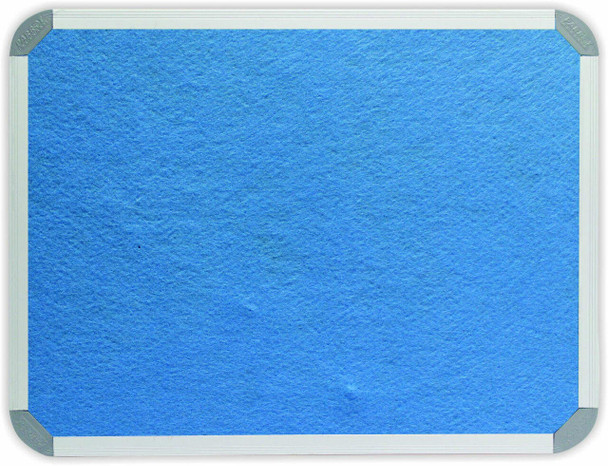 Info Board Aluminium Frame - 12001000mm - Sky Blue