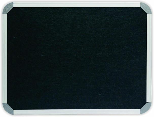 Info Board Aluminium Frame - 15001200mm - Black