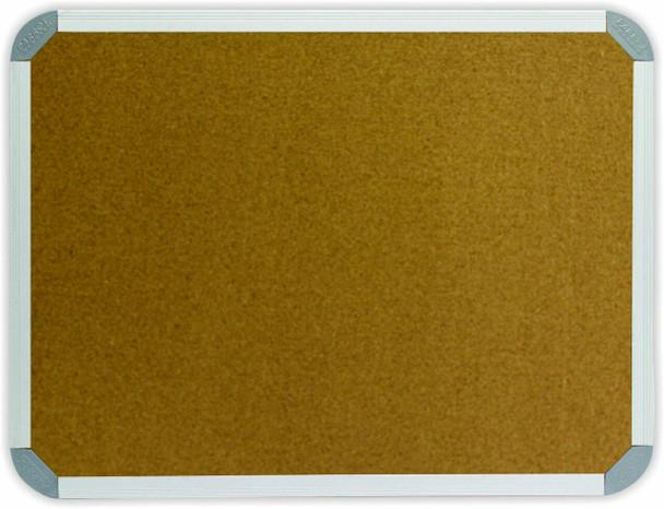 Info Board Aluminium Frame - 15001200mm - Cork