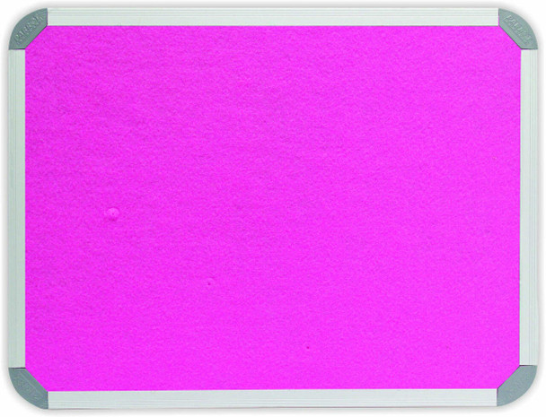 Info Board Aluminium Frame - 15001200mm - Pink