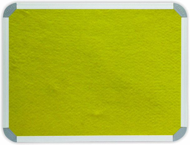 Info Board Aluminium Frame - 1500900mm - Yellow