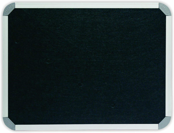 Info Board Aluminium Frame - 18001200mm - Black