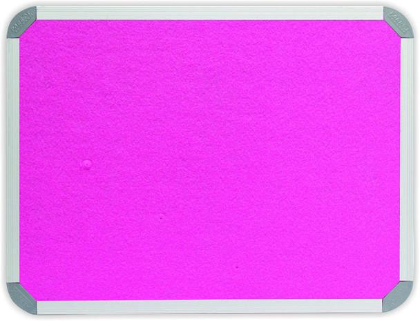 Info Board Aluminium Frame - 18001200mm - Pink