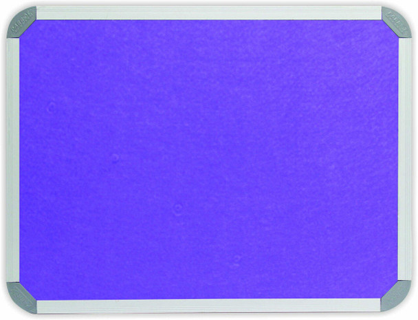 Info Board Aluminium Frame - 1800900mm - Purple