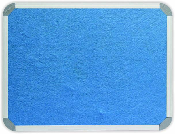Info Board Aluminium Frame - 18009000mm - Sky Blue