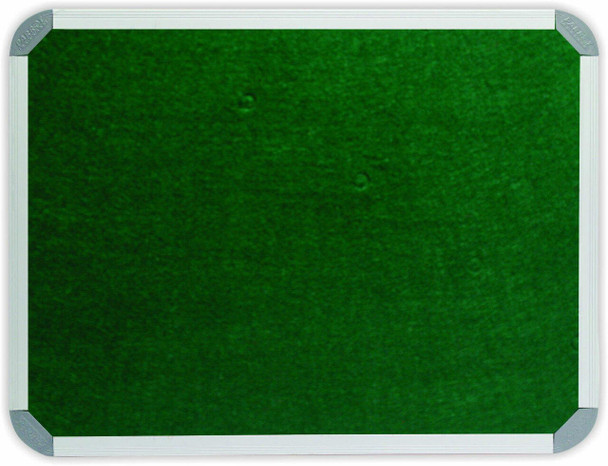 Info Board Aluminium Frame - 200012000mm - Green