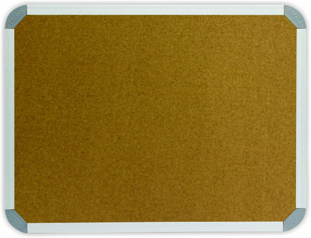 Info Board Aluminium Frame - 240012000mm - Cork