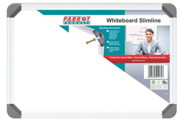 Slimline Non-Magnetic Whiteboard 300450mm
