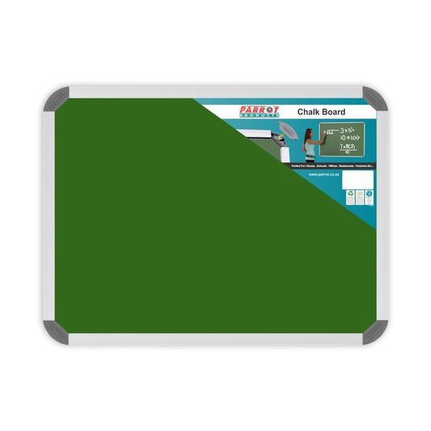 Chalk Board Non-Magnetic Aluminium Frame - 600450mm