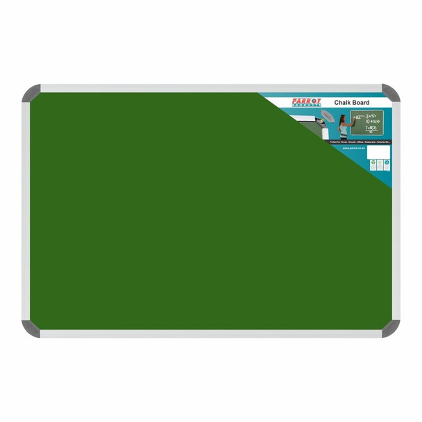 Chalk Board Non-Magnetic Aluminium Frame - 900600mm