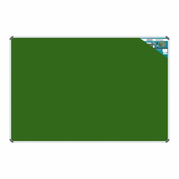 Chalk Board Non-Magnetic Aluminium Frame - 18001200mm