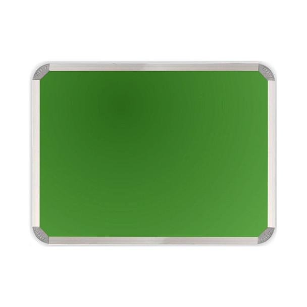 Chalk Board Non-Magnetic Aluminium Frame - 24001200mm