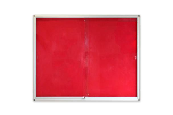 Pinning Display Case 15001200mm - Red