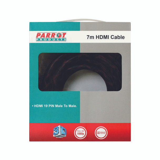Braided HDMI Cable 7 Meters