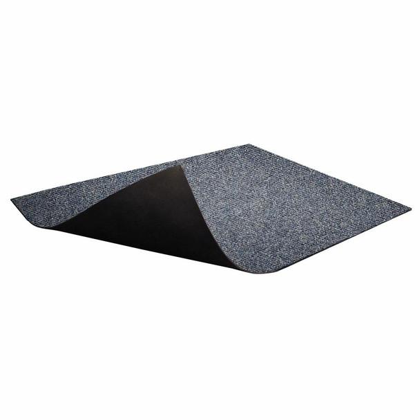 Floor Protector Ribbed Non-Slip 1200 x 850 x 5.5mm Denim